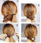 4 Adımda Basit Kolay Saç Modelleri Yapmak