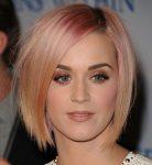 Katy Perry Kısa Balyajlı Saç Modeli