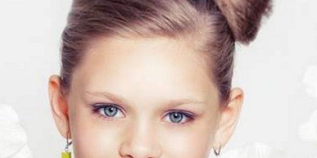 Kız Çocukları İçin 2019 Sevimli Saç Modelleri