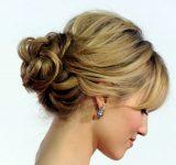 Düğün Nişanda Yapılabilecek Düşük Topuz Saç Modelleri