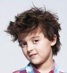 Erkek Çocuk Dağınık Saç Modeli