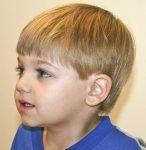 Erkek Çocuk Kahküllü Saç