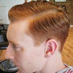 Erkekler İçin Yana Taralı Saç Modeli
