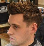 Havaya Dikleştirilmiş Erkek Saç Modeli