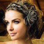 Kısa Saçlı Permalı Gelin Saç Modelleri