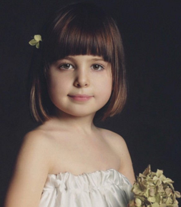Küt Kahküllü Saç Modeli Çocuklar İçin