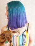 2017 Saç Trendleri İlginç Renkler