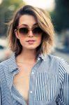 2018 Uzun Yüz Saç Modelleri