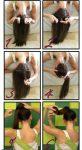 6 Aşamada Yapılabilen Örgülü At Kuyruğu Saç Modeli