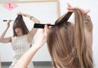 Düşük Topuz Saç1
