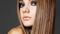 Gösterişli Düz Saç Modelleri 2017