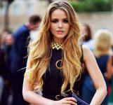 En Havalı Uzun Sarı Saç Modelleri 2017