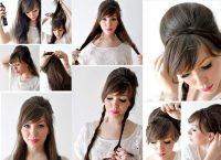 Evde Toplu Saç Modeli Yapımı