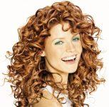 Havalı perma saç stilleri