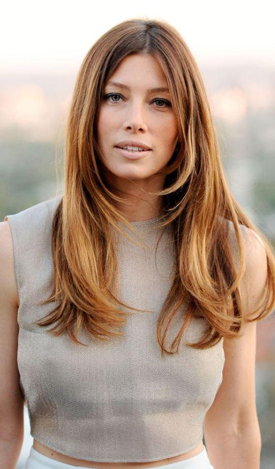 Jessica Biel 2017 Saç Rengi Çok Büyüleyici
