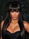 Kim Kardashian Uzun Katlı Havalı Kahküllü Saç Modelleri
