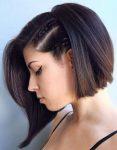 Kısa Bob Örgü Stili Saç Modelleri