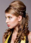 Kıvırcık Açık Saç Modeli