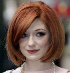 Kızıl Bob Saç Modeli