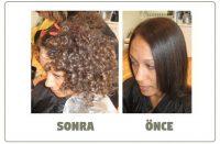 Perma saç modelleri öncesi ve sonrası