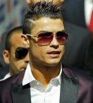 Ronaldo saç stili çizik