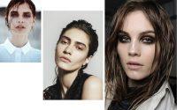 Saçlara Krem Uygulaması ile Islak Saç Modeli