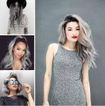 Trend Gümüş Silver Ombre Saçlar