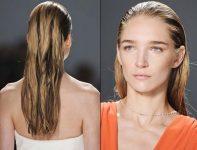 Uzun Islak Saç Modelleri