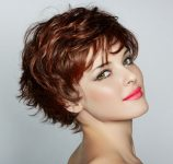 Kızıl Cool Saç Modelleri