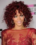 Rihanna Lüle Ve Kızıl Saç Modelleri