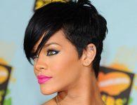 Rihanna Pixie Saç Modeli