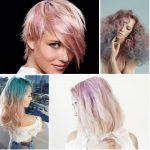 Etkileyici 2017 Pastel Saç Renkleri