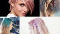 2017 Etkileyici Pastel Saç Renkleri