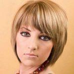 Kahküllü Kumral Kısa Saç Modeli