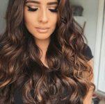 Karamel Kahve Saç Rengi Uzun Saçlar