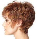 Klasik Kızıl Kısa Saç Modelleri
