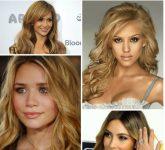 Ünlülerin Bal Sarısı Saç Modelleri