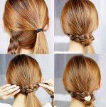4 Adımda Kolay Saç Modeli