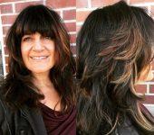 40 Yaş Üstü Bayanlar İçin Kahküllü Saç