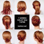7 Adımda Kolay Saç Yapımı
