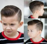 Erkek Çocuklar İçin Saç Traşı