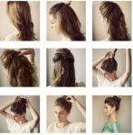 Kolay Nisan Saç Modeli Yapılışları