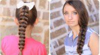 Okul için ideal 2017 örgü saç modelleri