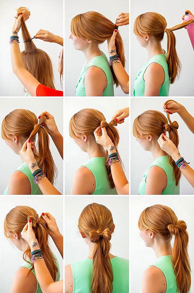 Basit Yapılabilen Saç Modelleri
