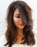 Havalı orta boy saç modeli