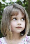 Kahküllü Kız Çocuk Lob Saç Modelleri 2018