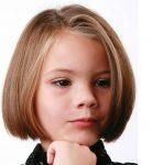Kiz Çocugu Küt Kesim Saç Modelleri