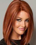 Kızıl Renk Bob Saç Modeli
