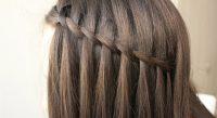 Kumral Saçlara Şelale Coşkusu Saç Modelleri