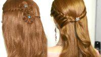 Muhteşem Örgü Şelale Saç Modelleri
